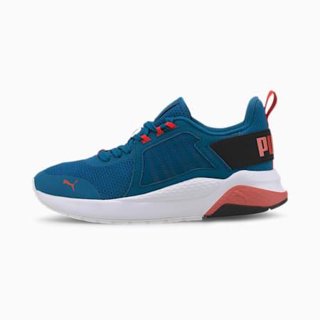 Anzarun Knit SoftFoam+ Kid's Sneakers, Digi-blue-Paprika-Puma Black, small-IND