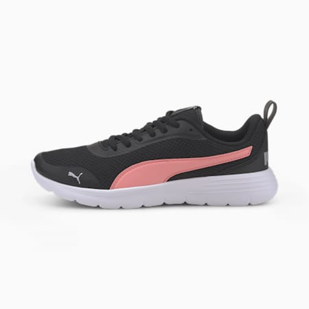Flex Renew Jr Sneakers, Puma Black-Peony, small-IND