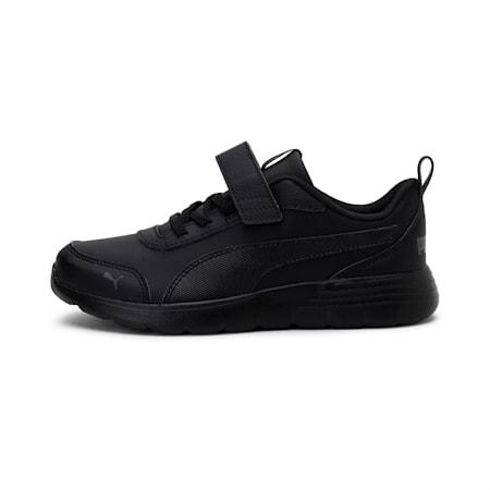 Flex Renew SL AC SoftFoam+ Kids' Shoes, Puma Black-CASTLEROCK, small-IND