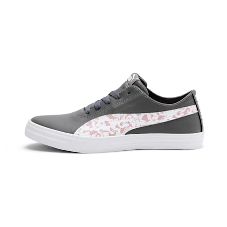 Urban Graphicster Women's IDP Sneaker, CASTLEROCK-Bridal Rose-White, small-IND