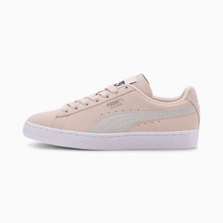 Suede Classic+ Women's Sneakers, Rosewater-Puma White, small