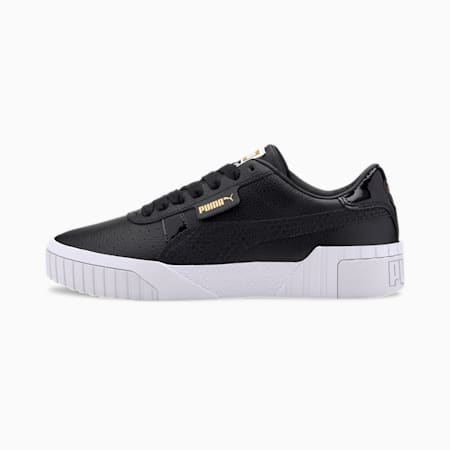 Cali Snake Women's Trainers, Puma Black-Gold, small