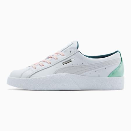 Zapatos deportivos Love para mujer, Puma White-Nimbus Cloud, pequeño
