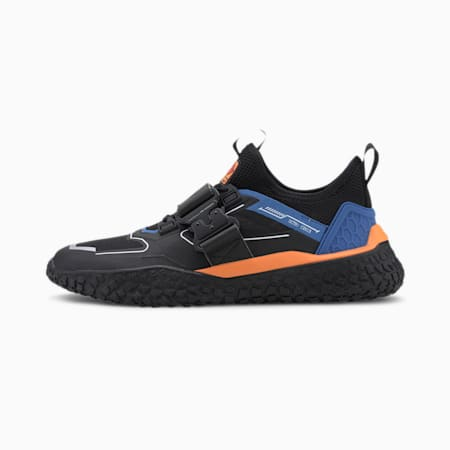 HI OCTN Sports Design Trainers, Puma Black-Palace Blue, small