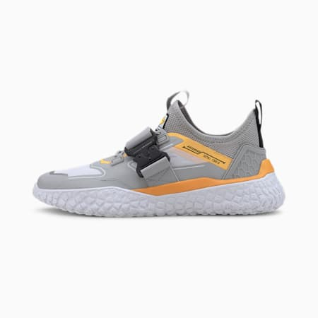 HI OCTN Sports Design Trainers, High Rise-ULTRA YELLOW, small