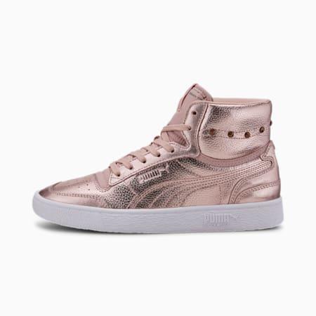 Ralph Sampson Mid Glitz Women's Sneakers, Pale Mauve-Rose Gold, small