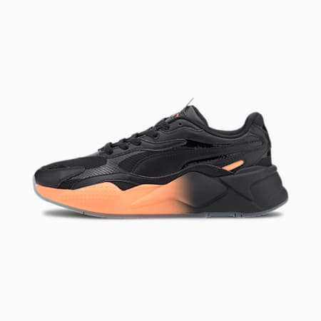 RS-X³ Gradient Women's Sneakers, Puma Black-Cantaloupe, small