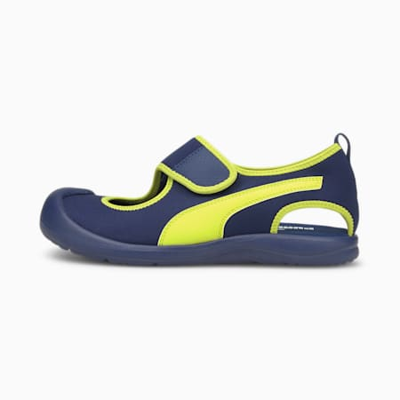 Aquacat Kids' Sandals, Elektro Blue-Nrgy Yellow, small-SEA