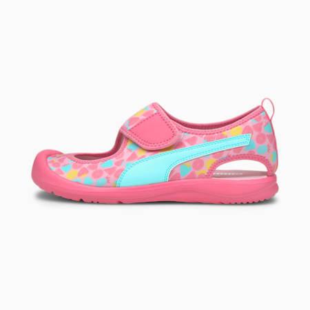 Aquacat Kids' Sandals, Sachet Pink-Island Paradise, small-SEA