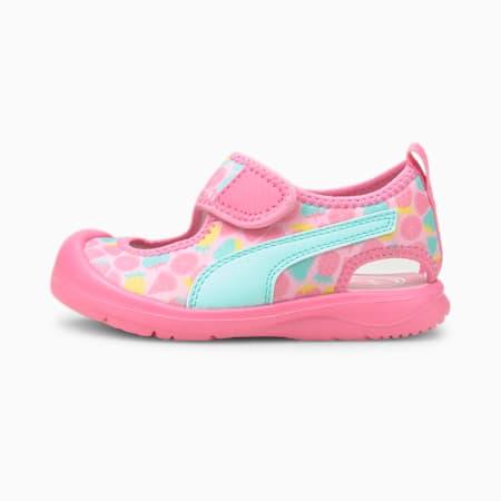 Aquacat Babies' Sandals, Sachet Pink-Island Paradise, small-SEA