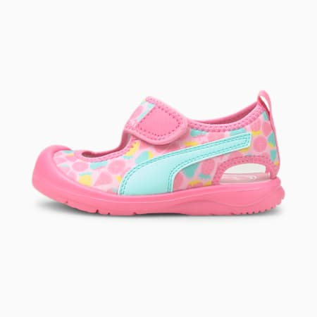 Aquacat Babies' Sandals, Sachet Pink-Island Paradise, small-SEA