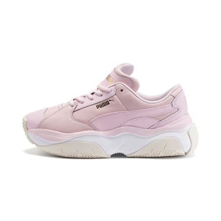 STORM.Y Leather Women's Trainers, Parfait Pink, small