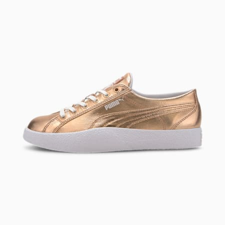 Love Metallic Women's Sneakers, Rose Gold, small