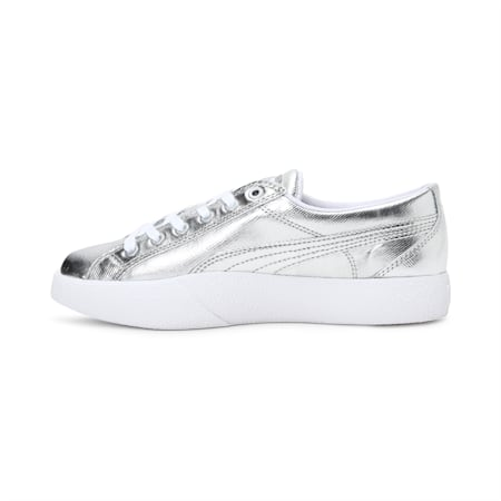 Love Metallic Women's Shoes, Puma Silver, small-IND