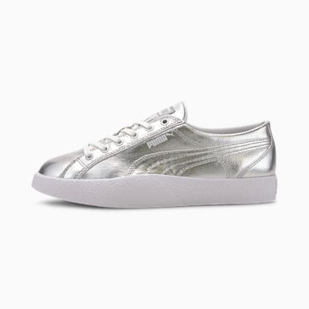 Love Metallic Women's Trainers, Puma Silver, small-SEA