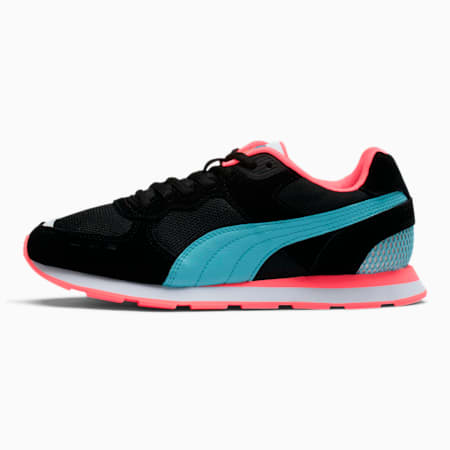 Vista Metallic Women's Sneakers, Puma Black-Milky Blue, small