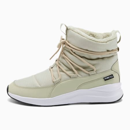 Adela PURETEX Women's Winter Boots, Overcast-Puma White, small