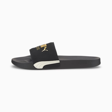 Leadcat FTR Suede Classic Sandals, Puma Black-PTG-Marshmallow, small-SEA