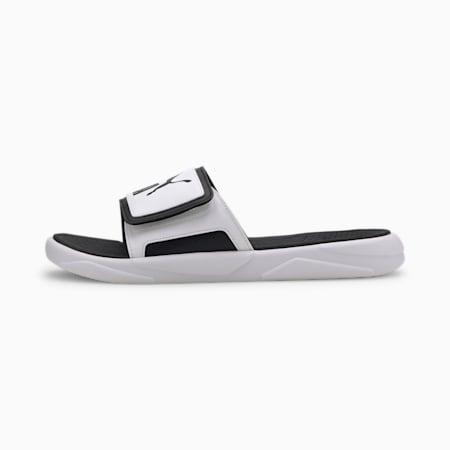 Royalcat Comfort Men's Slides, Puma White-Puma Black, small