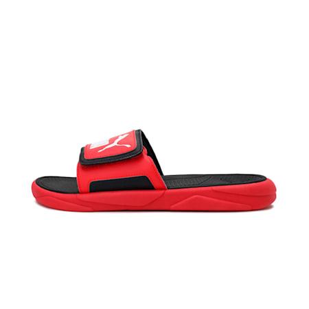 Royalcat Comfort  Sandals, Poppy Red-Puma Black-White, small-IND