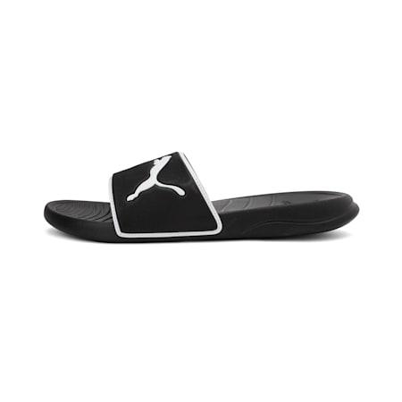 Popcat 20 TS Unisex Slides, Puma Black-Puma White, small-IND