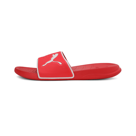 Popcat 20 TS Unisex Slides, High Risk Red-Puma White, small-IND