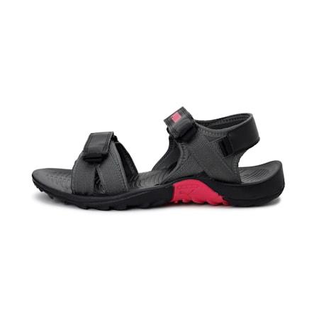 Force IDP Women's Sandals, DarkShadow-Black-BeetrootPur, small-IND
