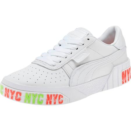 Cali Bold NYC Women's Sneakers, Puma White, small