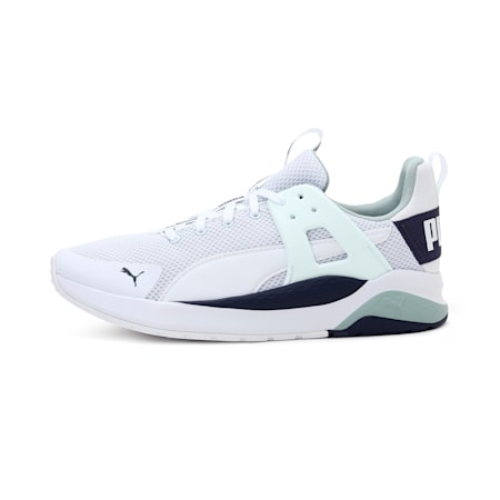 Anzarun Cage SoftFaom+ Sneakers, Puma White-Peacoat, small-IND