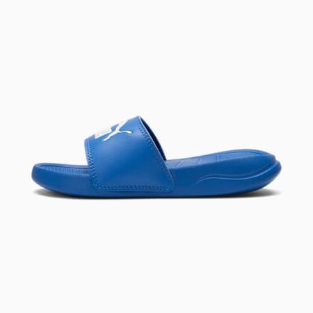Popcat 20 Little Kids' Slides, Palace Blue-Puma White, small