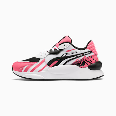 PUMA x SONIC RS 9.8 Youth Trainers, Bubblegum-Puma White, small-SEA