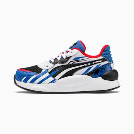 PUMA x SONIC RS 9.8 Kids Sneaker, Palace Blue-Puma White, small