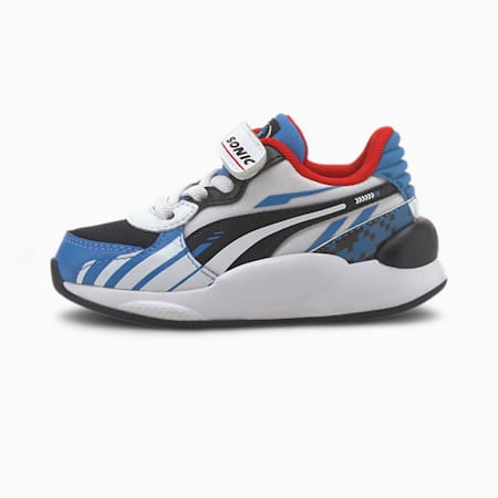 PUMA x SONIC RS 9.8 Toddler Shoes, Palace Blue-Puma White, small