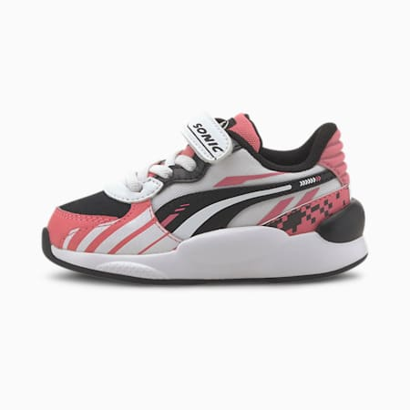 PUMA x SONIC RS 9.8 Toddler Shoes, Bubblegum-Puma White, small