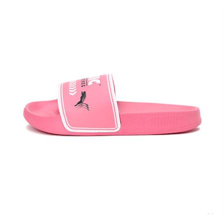 PUMA x SONIC Leadcat Kid's Slides, Bubblegum-Puma White, small-IND