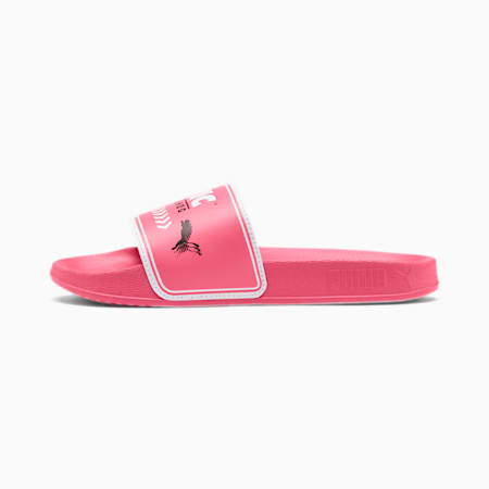 PUMA x SONIC Leadcat Little Kids' Slides, Bubblegum-Puma White, small