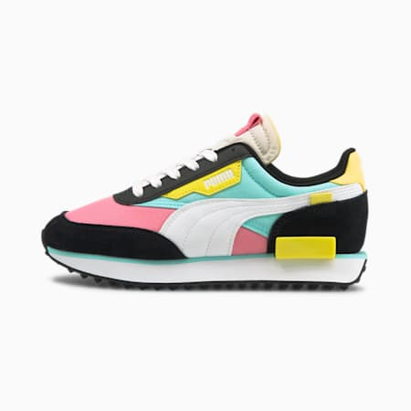 Future Rider Play On Youth Trainers, Sachet Pink-White-Celandine, small-GBR