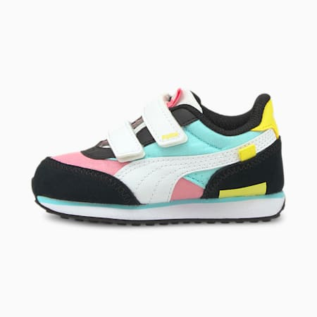 Future Rider Play On Babies' Trainers, Sachet Pink- White-Celandine, small-GBR