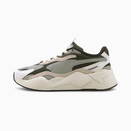 RS-X³ Puzzle Sneakers JR, Limestone-Whisper White, small