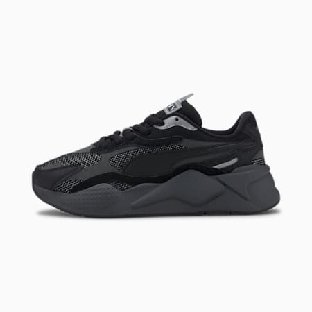 Basket RS-X Puzzle Youth, Puma Black-CASTLEROCK, small