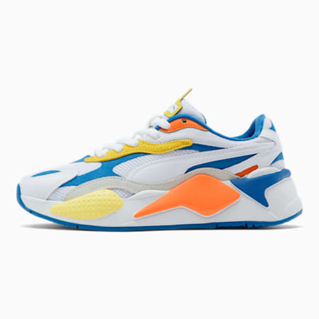 RS-X³ Puzzle Sneakers JR, P.White-P.White-Firecracker, small