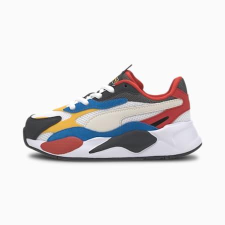 Buty sportowe RS-X Puzzle dla dzieci, Puma W-Spectra Yellow-Puma B, small