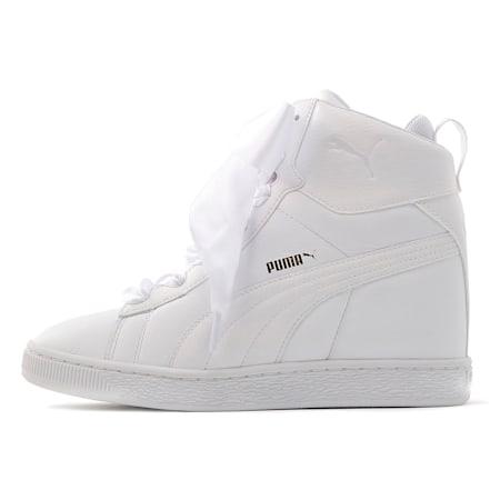 プーマ バスケット ティップトゥー ウィメンズ スニーカー, Puma White, small-JPN