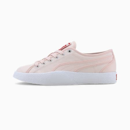 Love Canvas Women's Sneakers, Rosewater, small