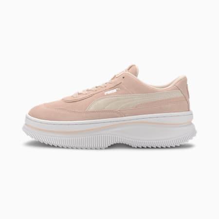 DEVA Suede Women's Sneakers, Rosewater-Puma White, small