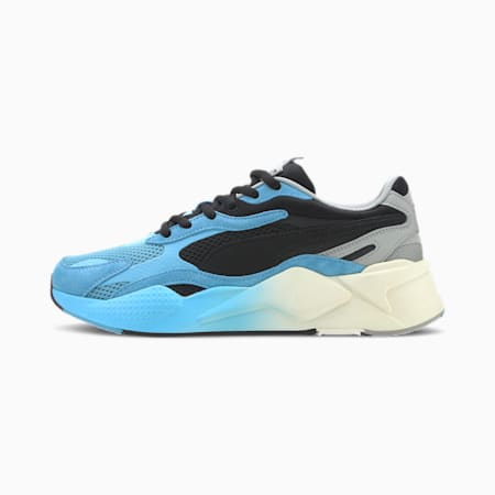RS-X Move Trainers, Puma Black-Ethereal Blue, small