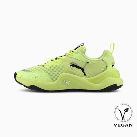 Rise Neon Women's Sneakers, Fizzy Yellow, small-IND