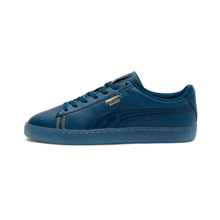 Basket Classic Reptile one8 Unisex Sneakers, Gibraltar Sea-Puma Team Gold, small-IND
