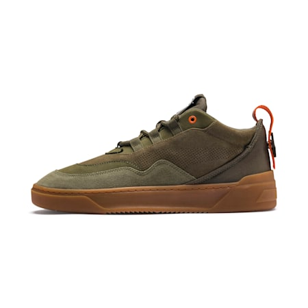Cali Zero Demi Army Green Sneakers, Capulet Olive-Burnt Olive, small