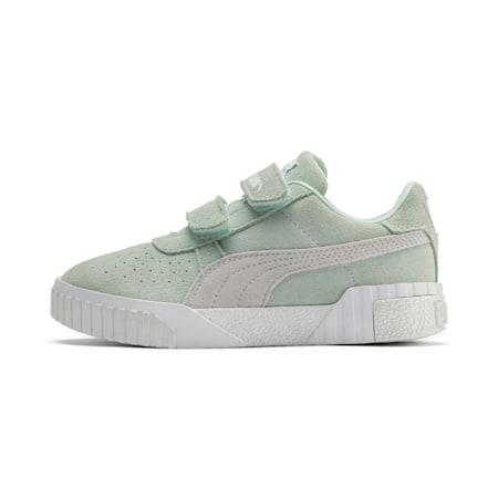 Zapatos SG x Cali Suede para niño pequeño, Fair Aqua-Puma White, pequeño